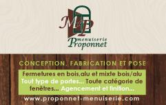 Menuiserie Proponnet
