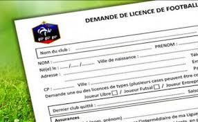 Licences Saison 2020 / 2021